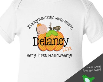 baby's first halloween bodysuit or t shirt adorable for halloween baby
