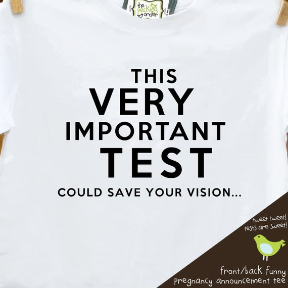 big brother front back funny eye test shirt - pregnancy announcement funny t shirt