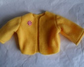 GoldnPeach Fleece Jacket Coat fits Am G or Gotz Doll 18 to 20 inch doll Clothes Hand Made