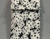 Dice Cell Phone Case, bunco bunko gadget pouch