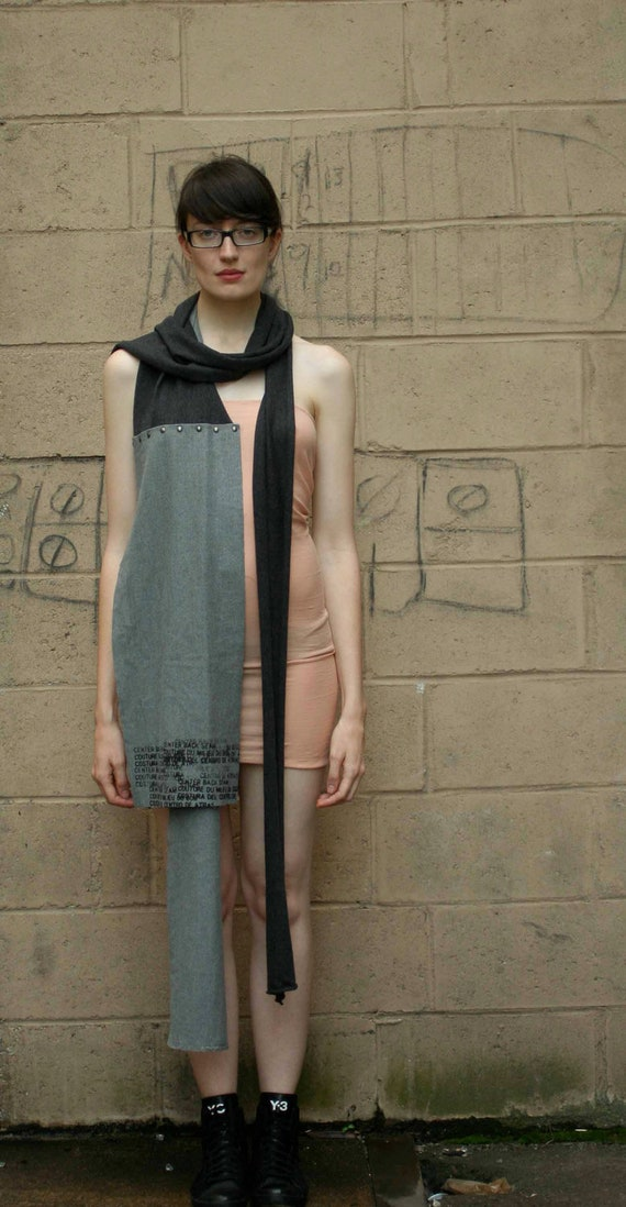 Gris Wool Scarf