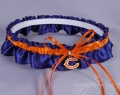 Chicago Bears Wedding Garter
