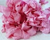 Crinkled Ribbon-Fuschia
