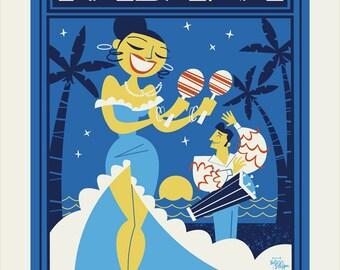 SALE Habana Nights 11x17
