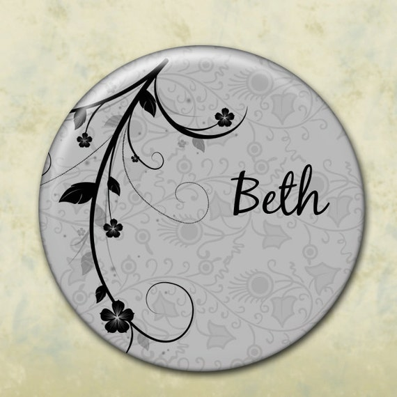 Pocket Mirror, Bridesmaid Gift, Customized, Shower Favor, Wedding Favor