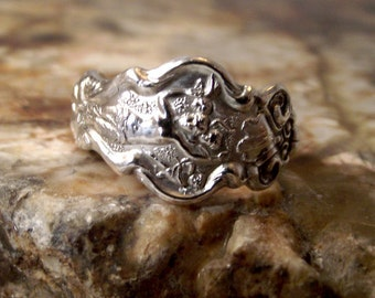Sterling Silver Spoon Ring - 1902 IRIAN