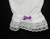 Two-Tier Lace Bloomers