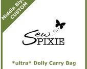 Custom Ultra Middie Blythe Dolly Carry Bag