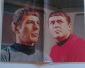 CARD HOLDER - Star Trek - Spock & Scotty