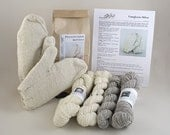 Pennsylvania Mittens Knitting Kit - Adult Size
