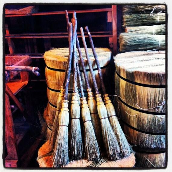 Mother Amp Daughter Ceremonial Broom Set In All Natural