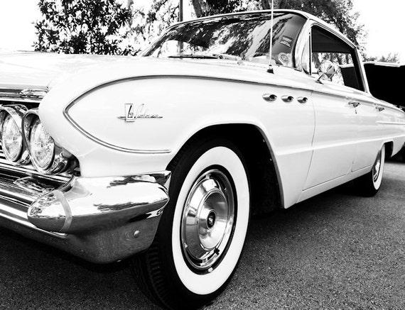 Buick LaSabre Car Photography, Automotive, Auto Dealer, Muscle, Sports Car, Mechanic, Boys Room, Garage, Dealership Art