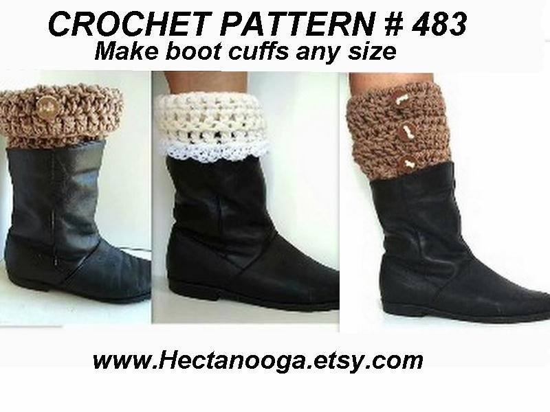 CROCHET PATTERN boot cuffs crochet patterns children