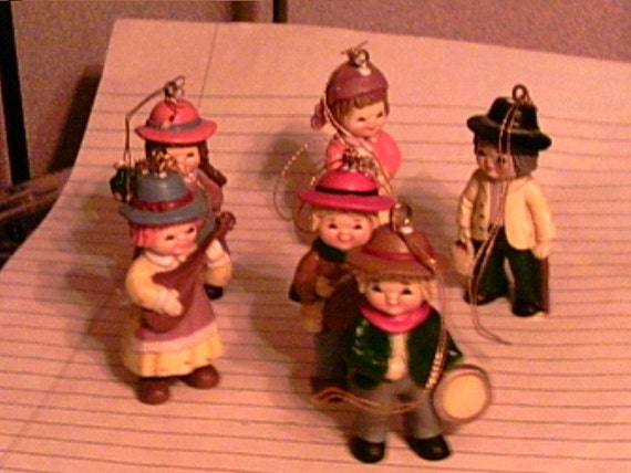 Old Fashioned People Plastic Ornaments