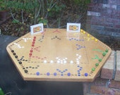 Large Peg and Joker 4 and 6 player game