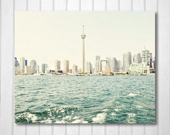 BUY 2 GET 1 FREE Toronto Skyline, Toronto Art, Toronto Print, Cn Tower, Fine Art Print, Wall Decor, Home Decor, City Print, Nursery Decor