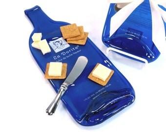 Melted Bottle Cheese Tray La Dorita Dulce De Leche Liqueur Glenshaw, PA / Pittsburgh, PA / Christmas Gift / Cheese Board / Serving Plate