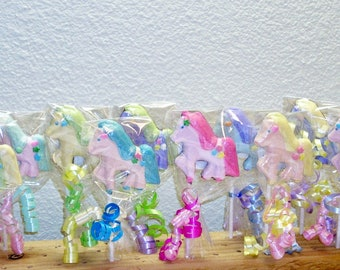 10 Little Pony Lollipops
