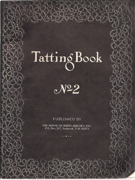 Books, Tatting, 1980, Full of Projects and Patterns
