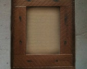 4''x6'' Picture Frame (Toscana Collection - in redwood w/ hardware)