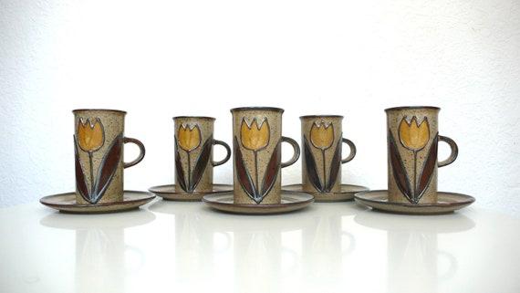 Japanese Stoneware Mugs