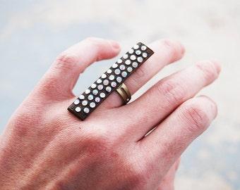 Rhinestone Ring - Industrial Revolution Collection