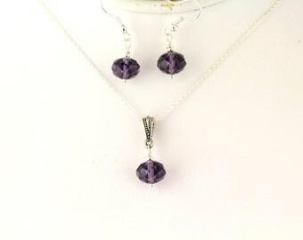 Glass Bead Pendant Set. Listing 109323394