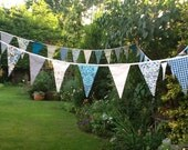 Wedding bunting - 100ft bunting, customise to match your colour theme