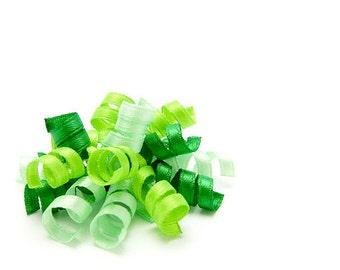 Green Mini Korker Bow, Satin Korker Clip, Korker Barrette, Baby, Toddler Girl