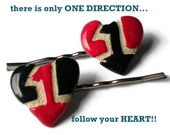One Direction Bobbie Pin Hair Accessories