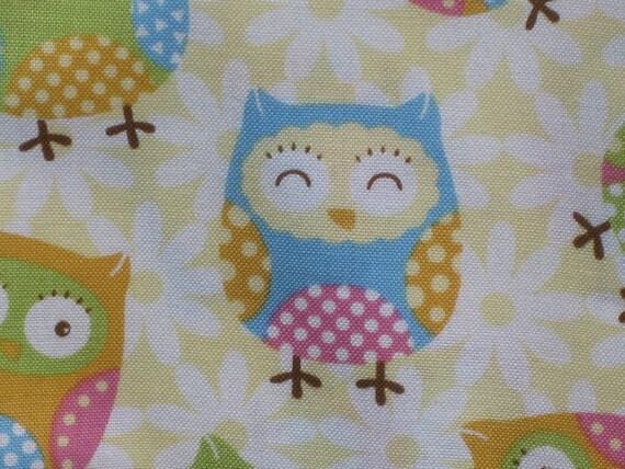 Cotton Crib Sheet - Night Owls