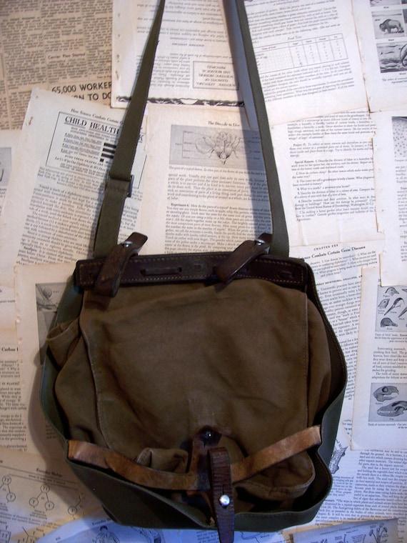 1950s Era German Military Bread Bag