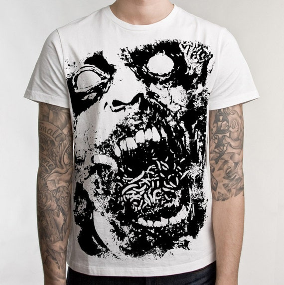 Zombie Tshirt - The Outbreak Horror Movie T shirts Mens