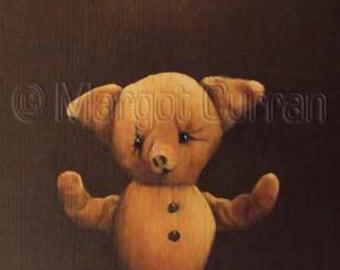 Piglet postcard 6-pack