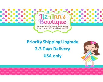 Priority Shipping Upgrade (2-3 days)