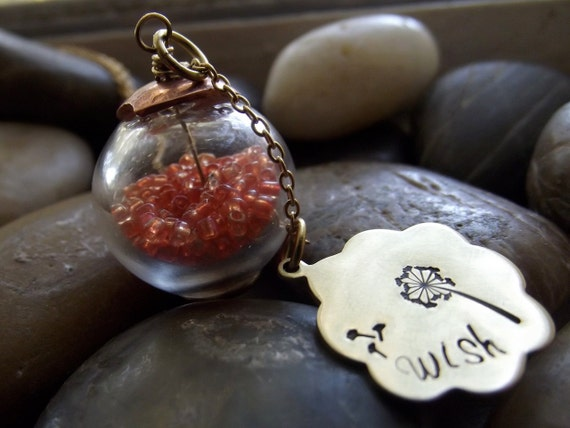 I Wish Pendant,  Ready to ship