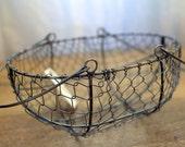 Chicken Weave Basket