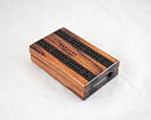 Compact Travel Cribbage - Shedua and Wenge