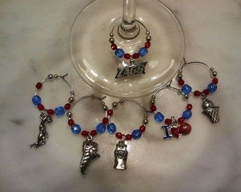 Gonzaga University  Wine Charms
