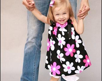 Baby Girl Pillowcase Dress Plain Jane Fabric