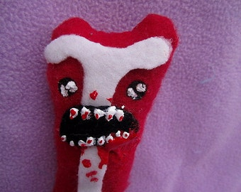 Zombie Bacon - Undead Plush Food (made to order)