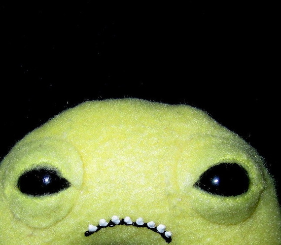 Bugsy - Yellow Plush Bugeyed Mini Monster