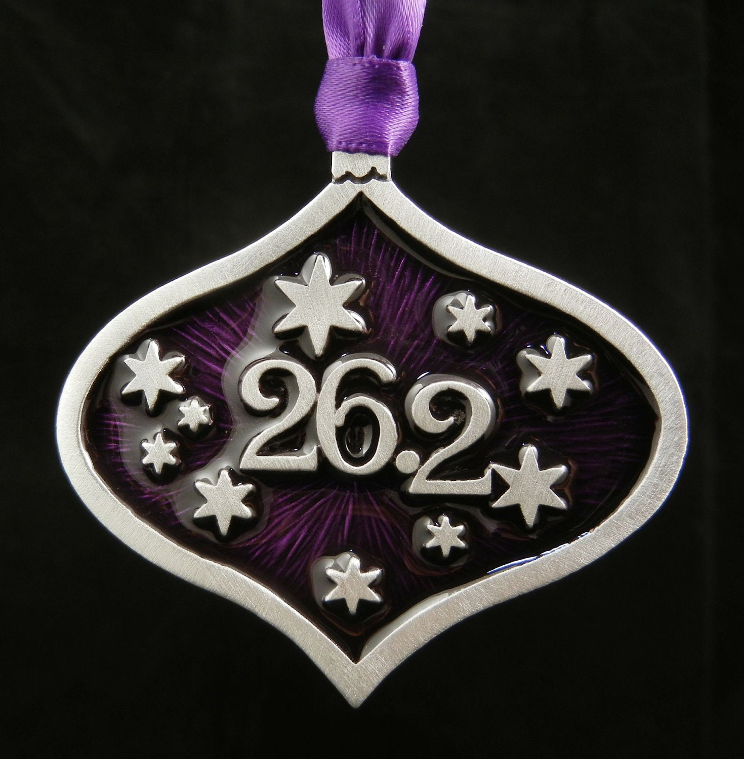 Marathon 26.2 Christmas GIFT Ornament for Runner Marathon Half