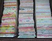 Assorted Floral Print Mini Envelopes Wedding Guest Book Business Card Envelopes Gift Card Envelopes