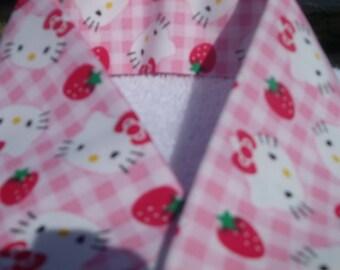 DSLR Camera Strap Cover - Hello Ketty Ketty Strawberry