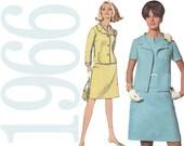1960s Mad Men Suit Vintage Pattern - B34 - Simplicity 6924 - Megan Draper Sewing Pattern