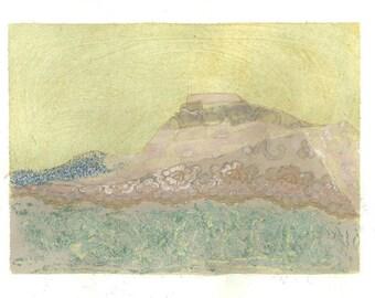 Art Print - Fortune Teller Mountain - Spakonufell of Skagastrond, Iceland