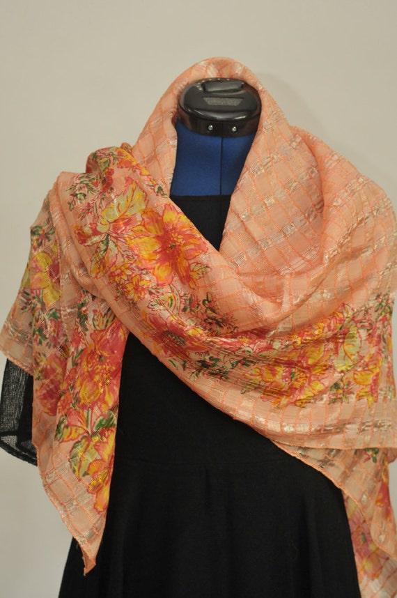 April Cornell Vintage Scarf with the original tags still attached.