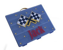 Personalized Car Case / Toy Car Storage / Big Brother Gift