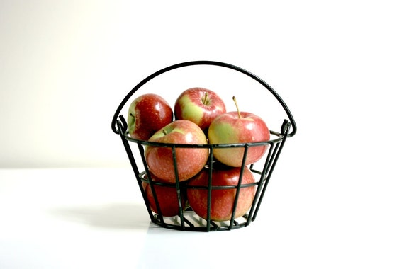 Vintage Metal Basket